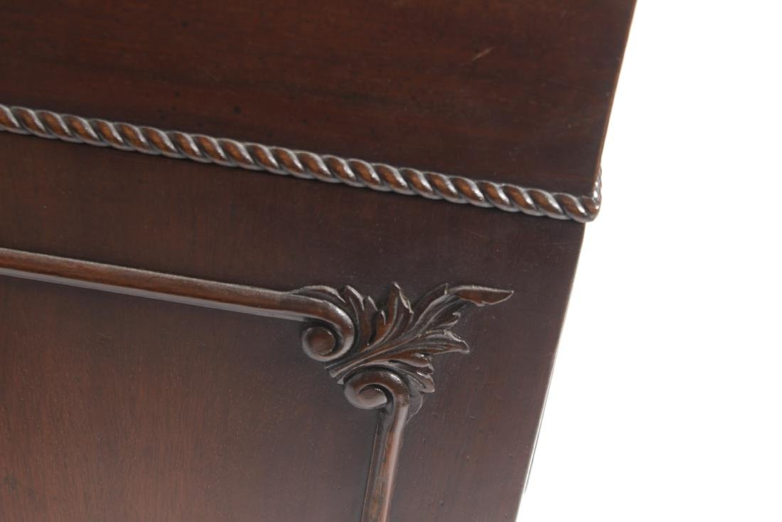 Mahogany Leather Top Executive Desk - 10