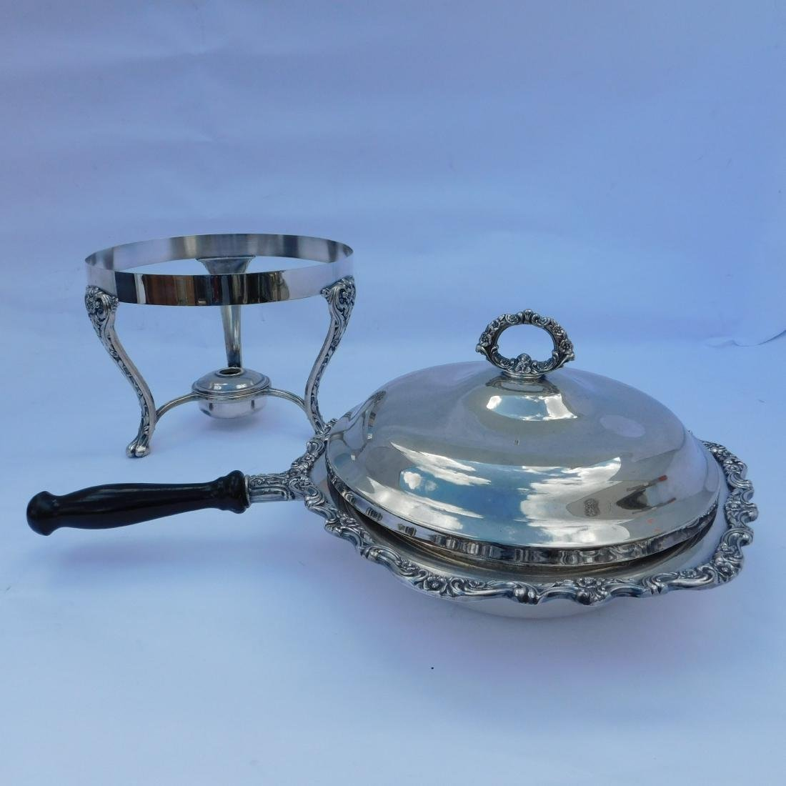 Three Silverplated Serving Dishes - 2