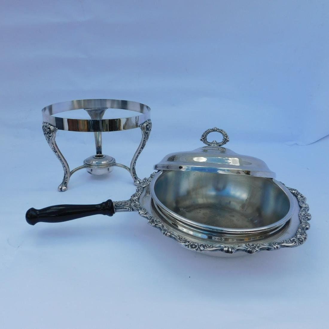 Three Silverplated Serving Dishes - 3