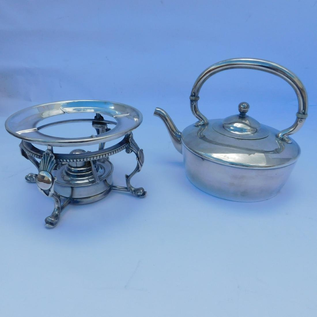 Miscellaneous Lot of three Silverplated Serving Di - 3