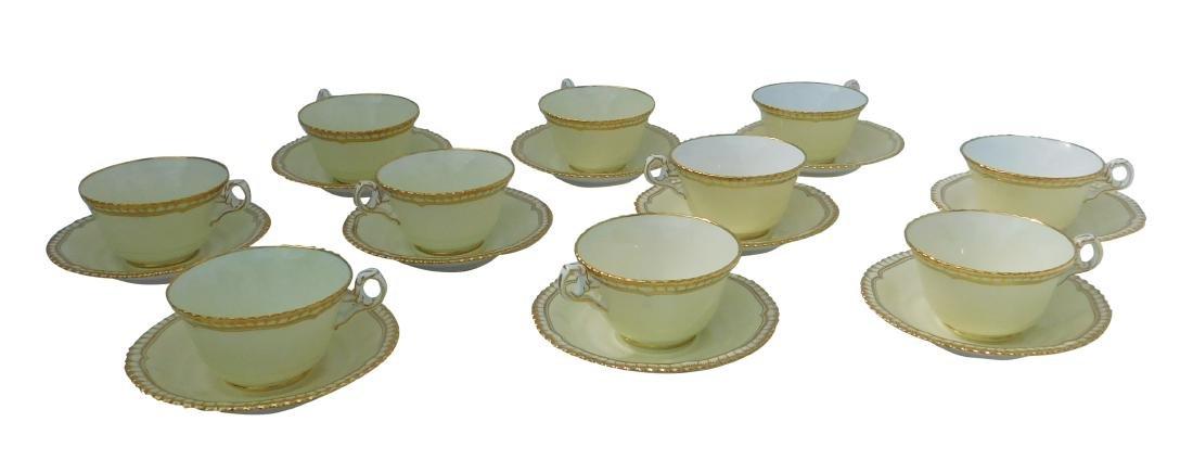 Lot of 10 SPODE Teacups