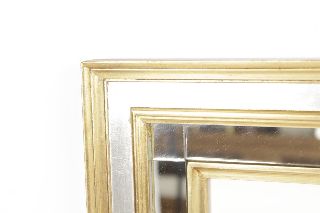 Pair  Decorator Botanicals in Mirrored Frames - 7