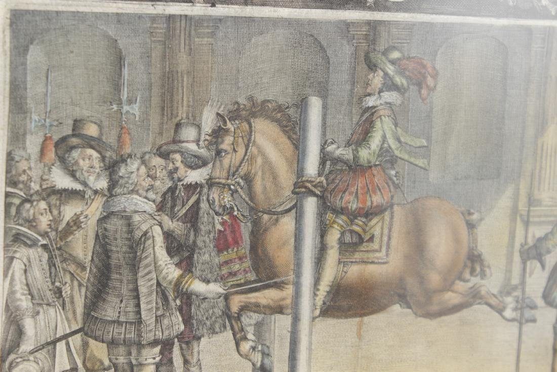 Set of Five 18th C Horse Engravings - 10