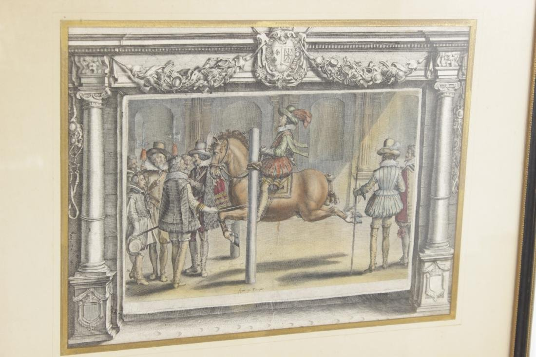 Set of Five 18th C Horse Engravings - 3