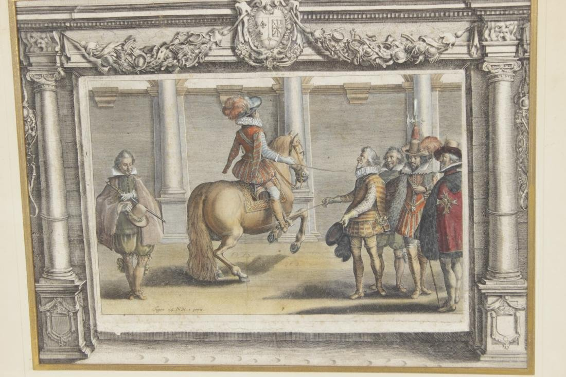 Set of Five 18th C Horse Engravings - 5