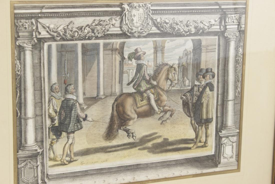 Set of Five 18th C Horse Engravings - 6