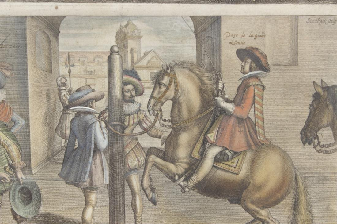 Set of Five 18th C Horse Engravings - 9