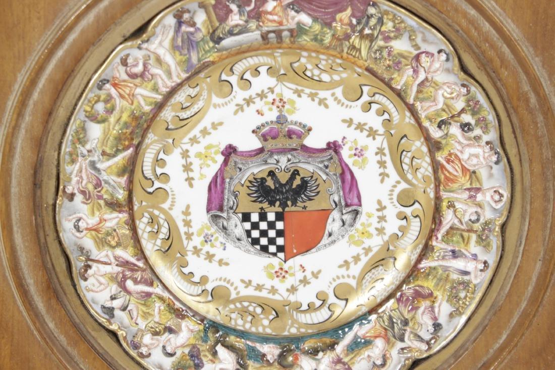 Capodimonte Heraldic Plate - 2