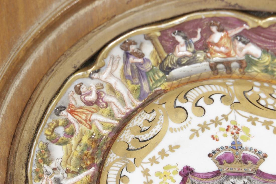 Capodimonte Heraldic Plate - 3