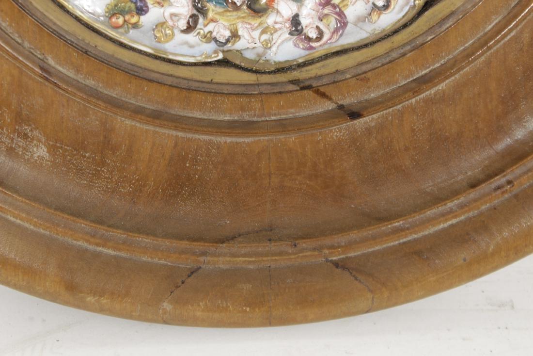 Capodimonte Heraldic Plate - 4