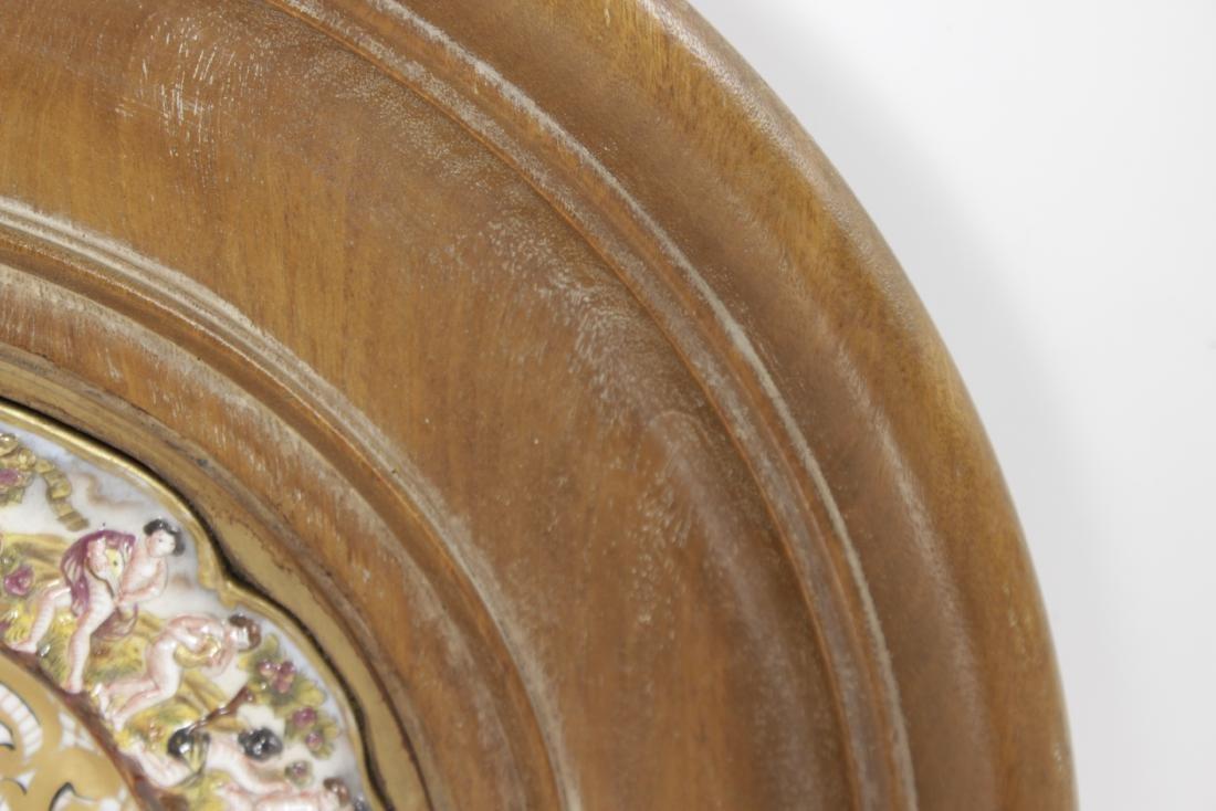 Capodimonte Heraldic Plate - 5