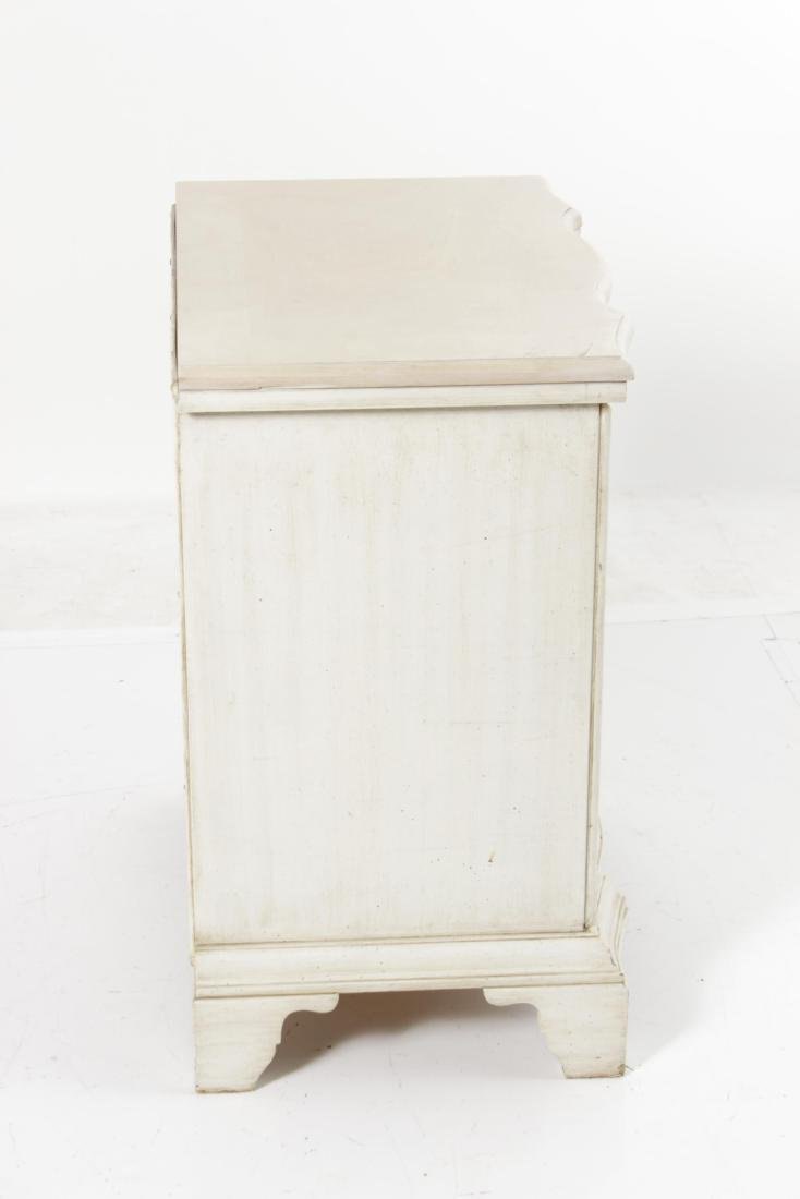 Painted End Table - 6