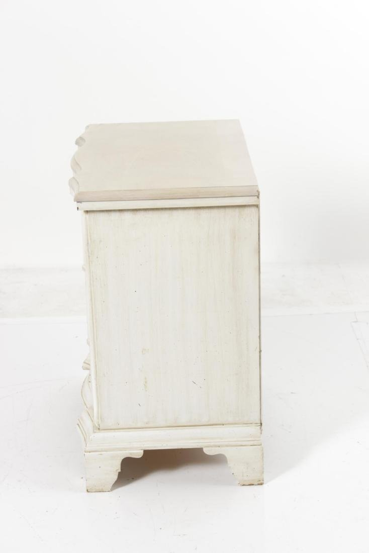 Painted End Table - 8