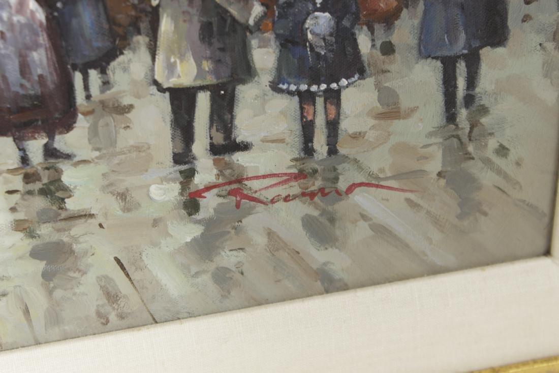 Painting Paris Street Scene - 2