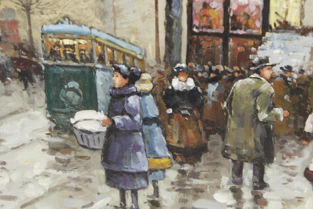 Painting Paris Street Scene - 3