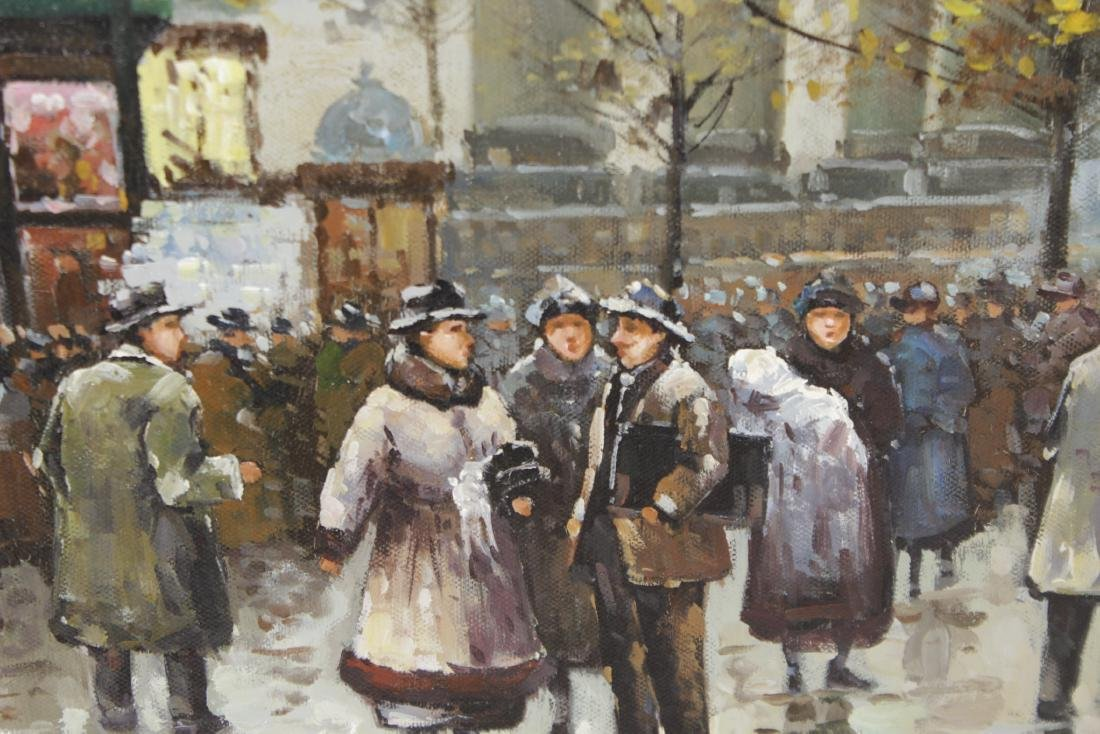 Painting Paris Street Scene - 4