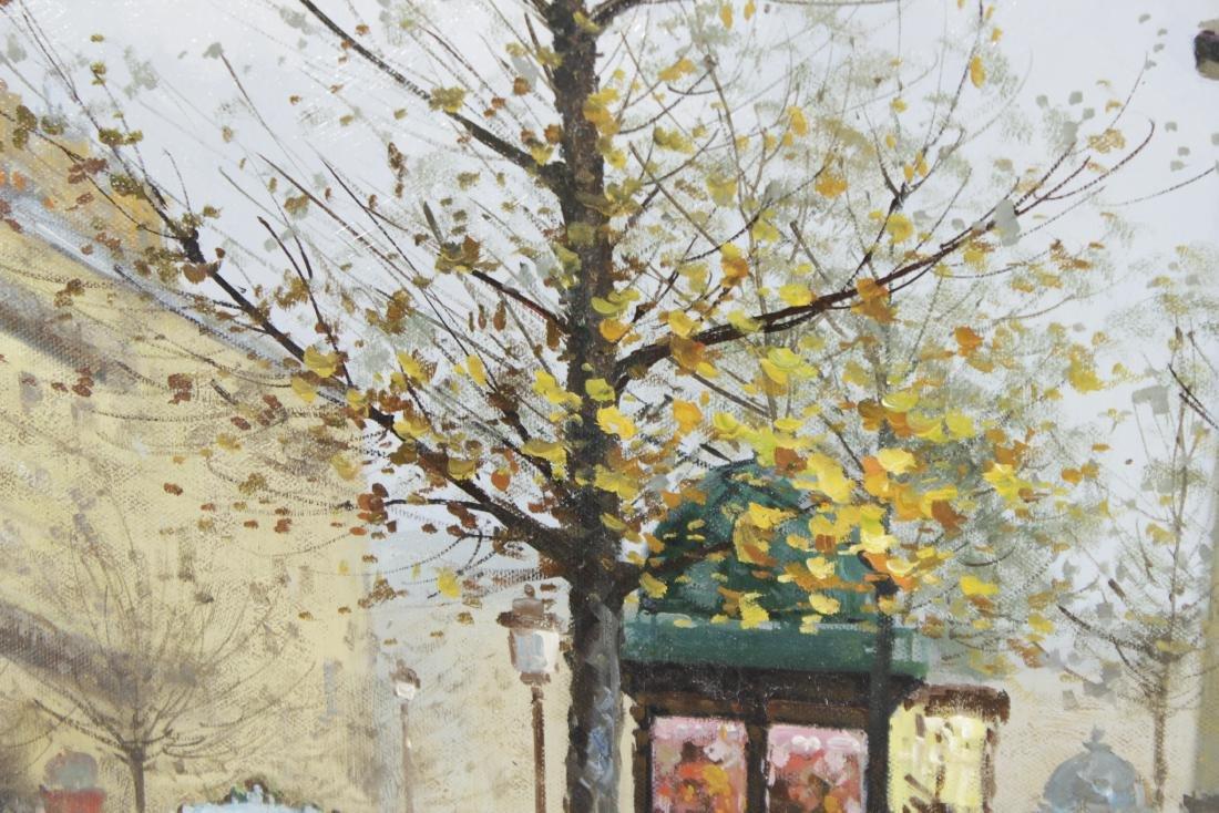 Painting Paris Street Scene - 5