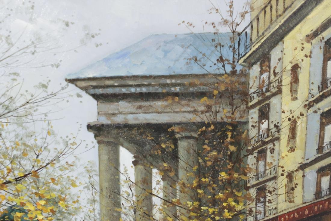 Painting Paris Street Scene - 6