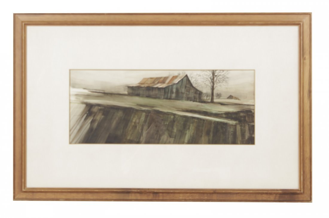 Fred Rawlings 20th century Watercolor