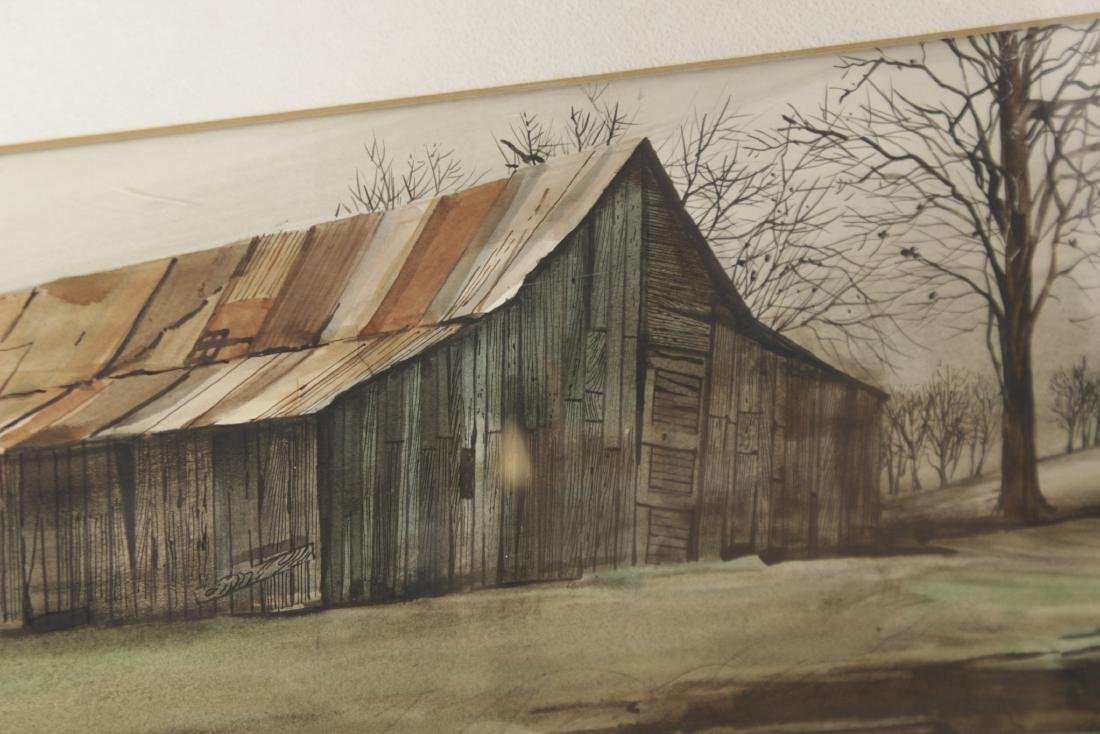 Fred Rawlings 20th century Watercolor - 2