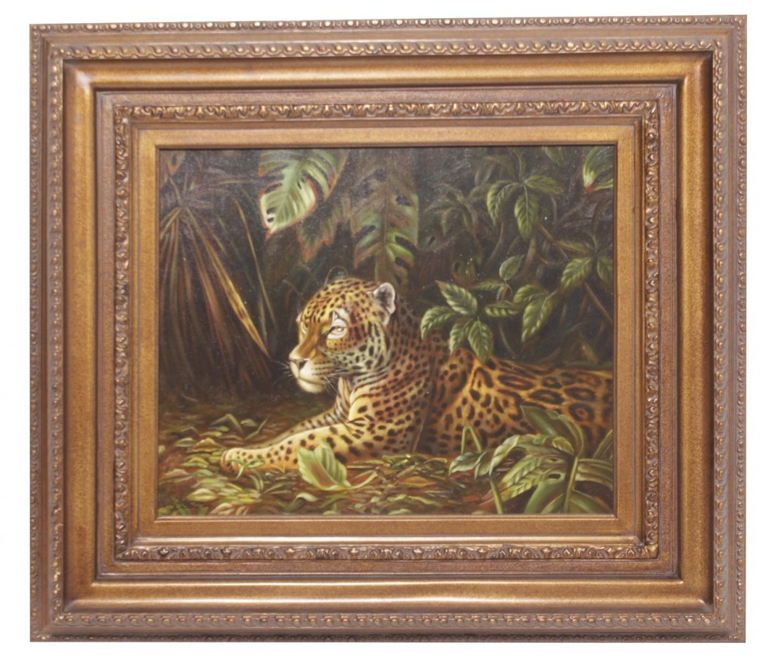 Belden - 20 Century Painting of a Tiger