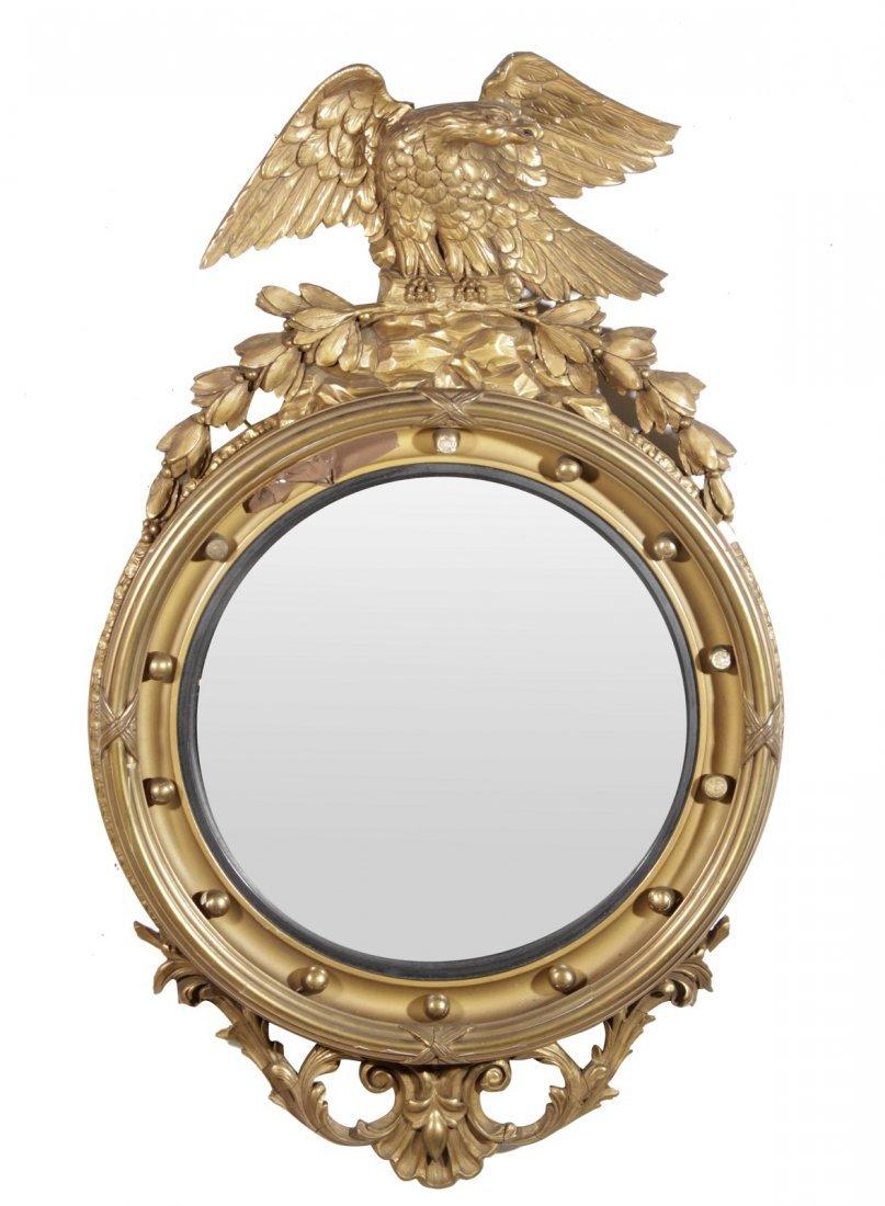 Federal Style Convex Mirror
