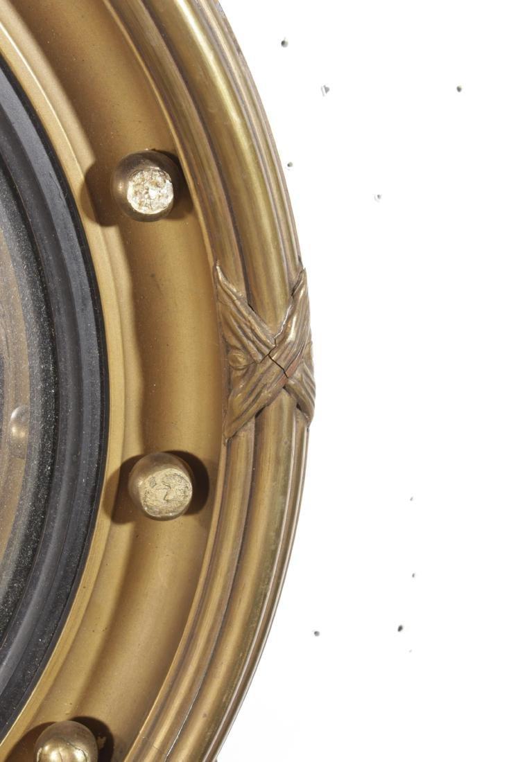Federal Style Convex Mirror - 5