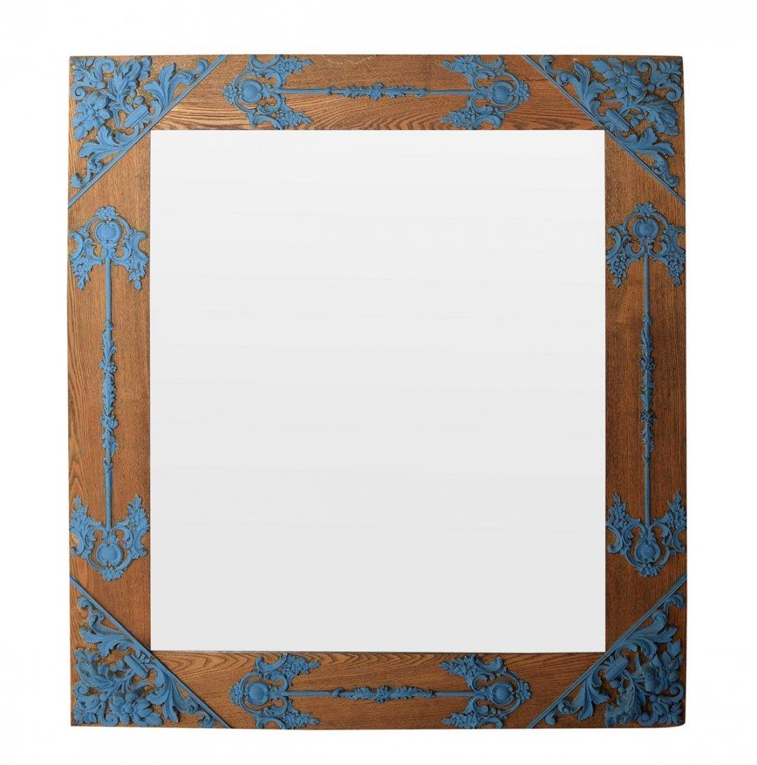 Arts & Crafts Style Mirror