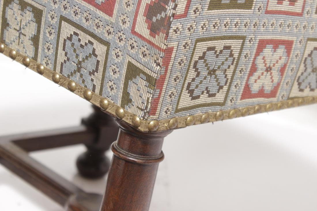 Pair 17th-Century Style Chairs - 5