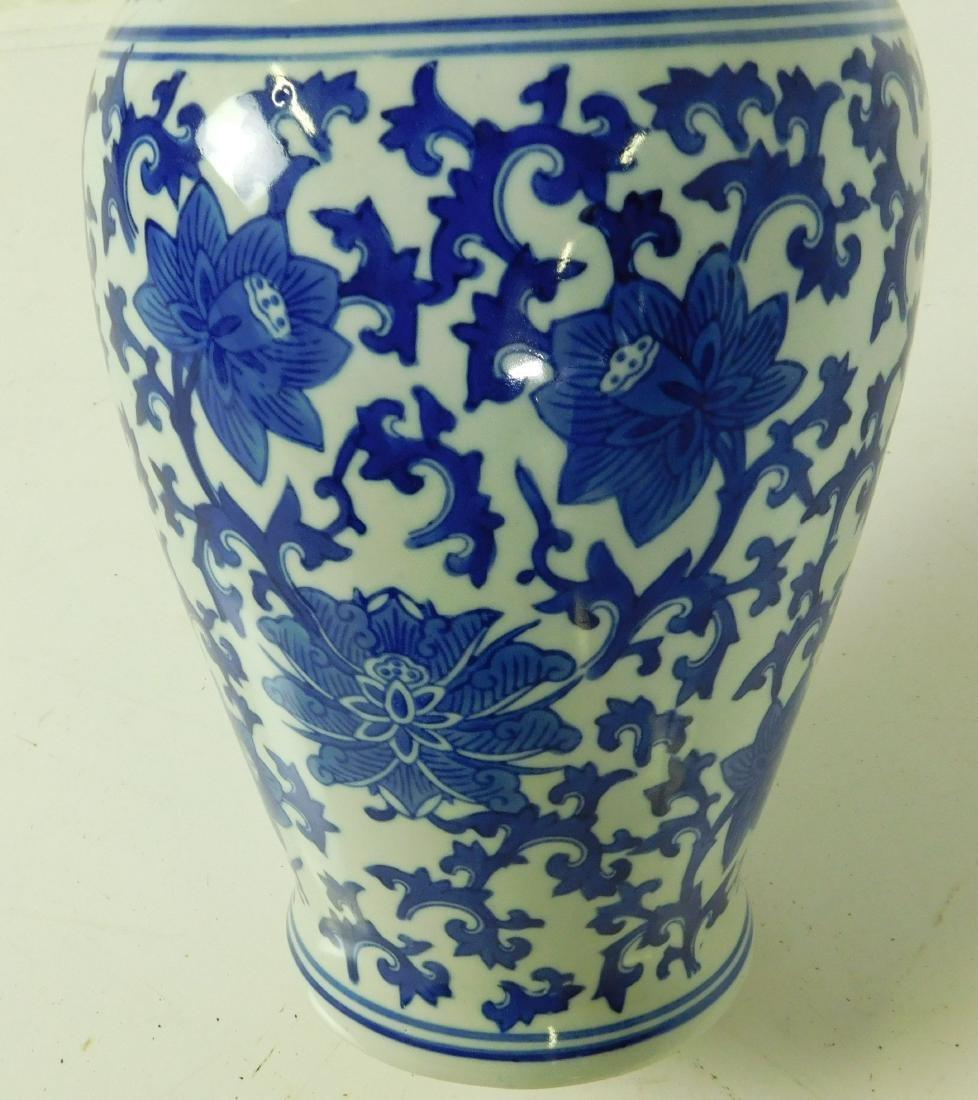 Blue & White Vase - 3