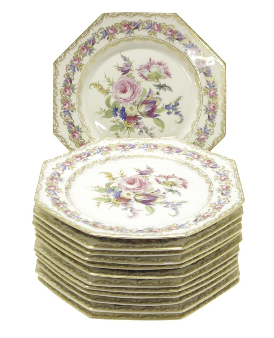 ROSENTHAL 12 Luncheon Plates