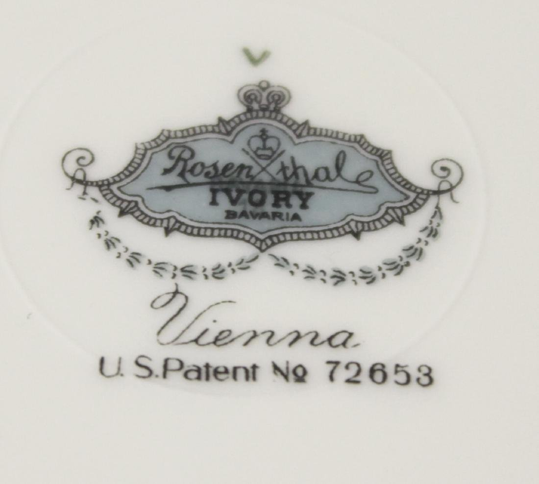 ROSENTHAL 12 Luncheon Plates - 5