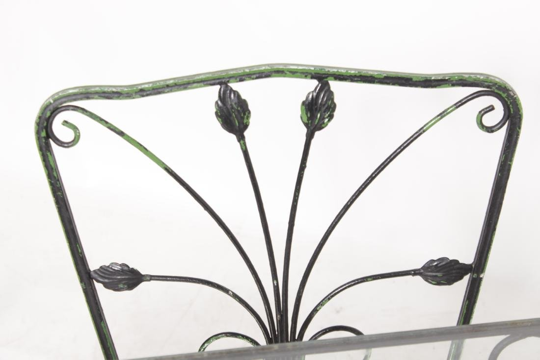 Wrought Iron Patio Set - 3
