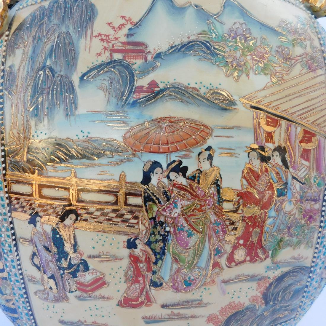 Monumental Chinese Porcelain Moon Flask - 5