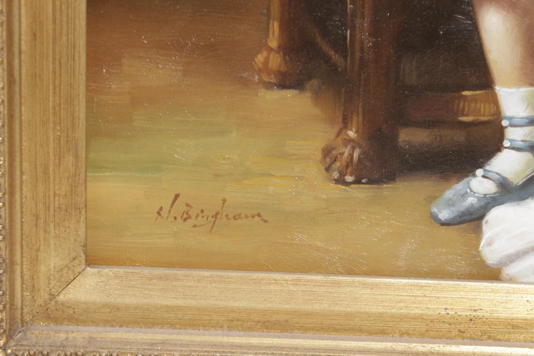 Decorative 19th C. Portrait of a Woman - 5
