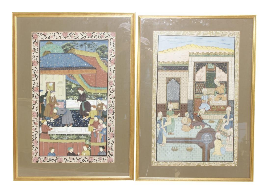 Two Mogul Style Paintings