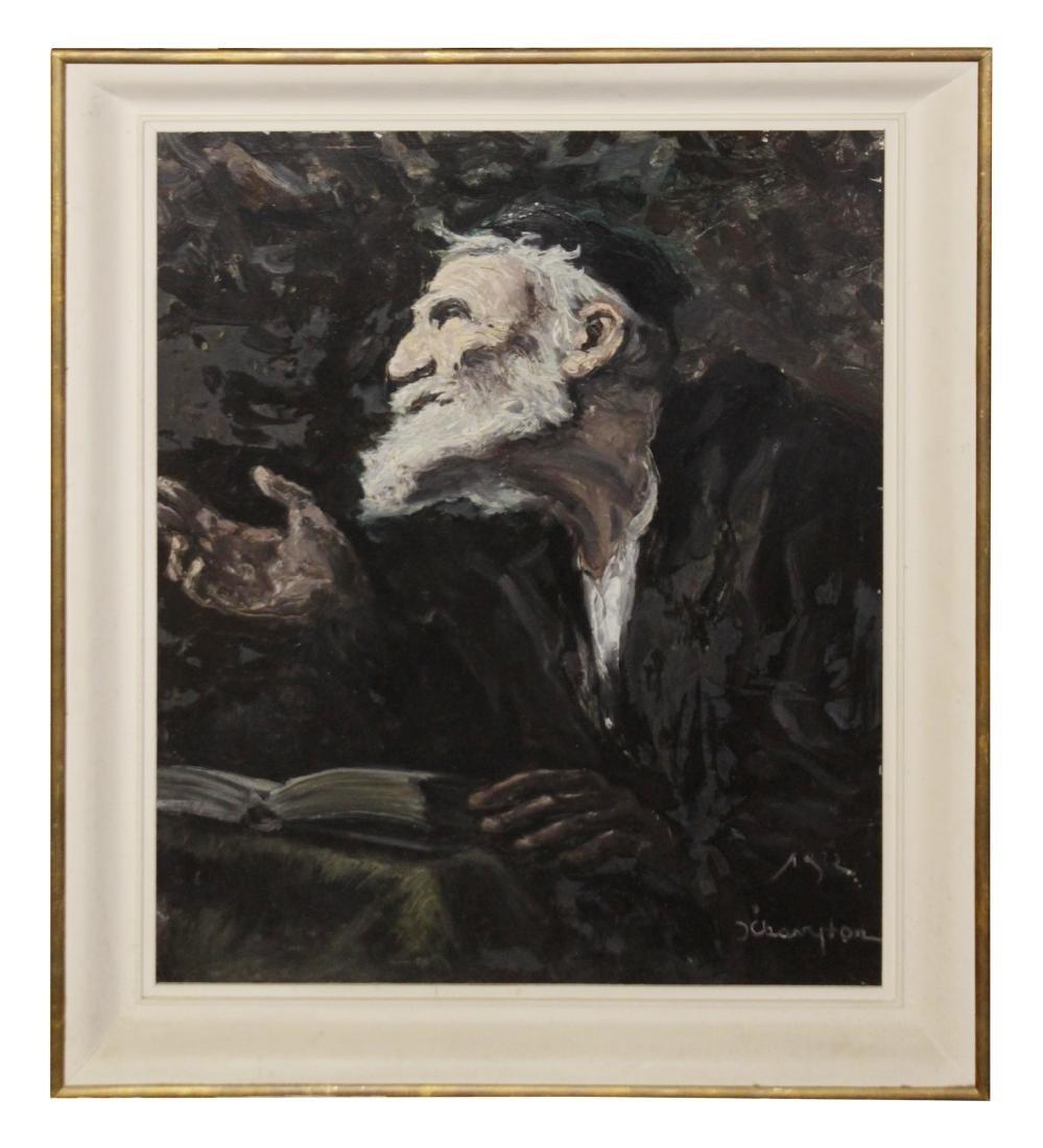 Portrait of a Jewish Scholar