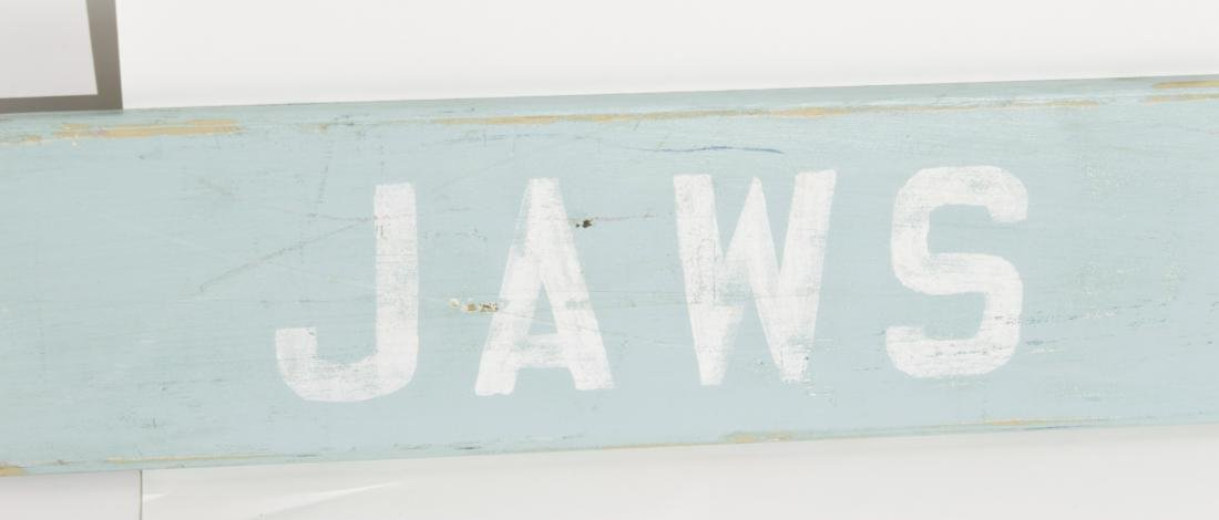 """Jaws House"" Sign - 2"