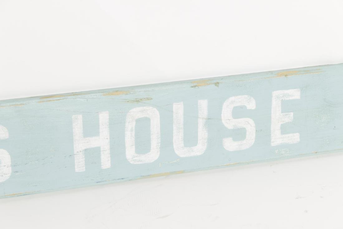 """Jaws House"" Sign - 3"