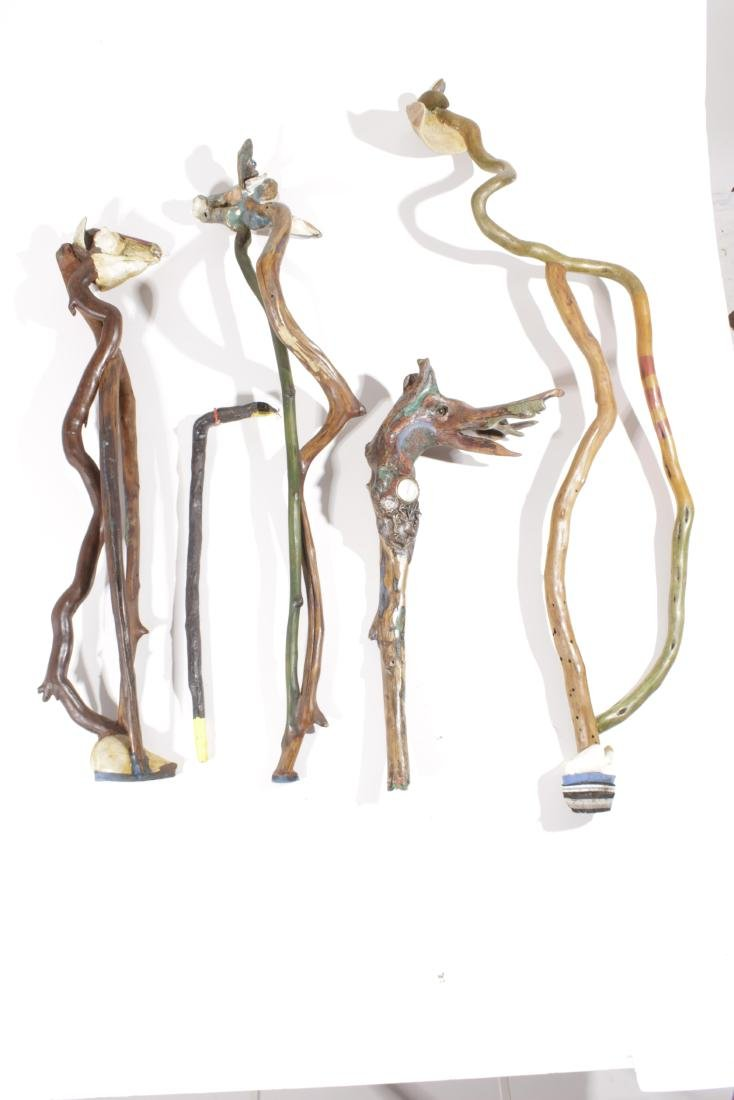 Five Walking Sticks