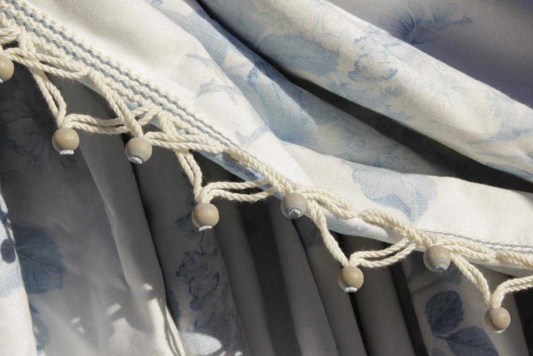 Ensemble of Blue Curtains - 3