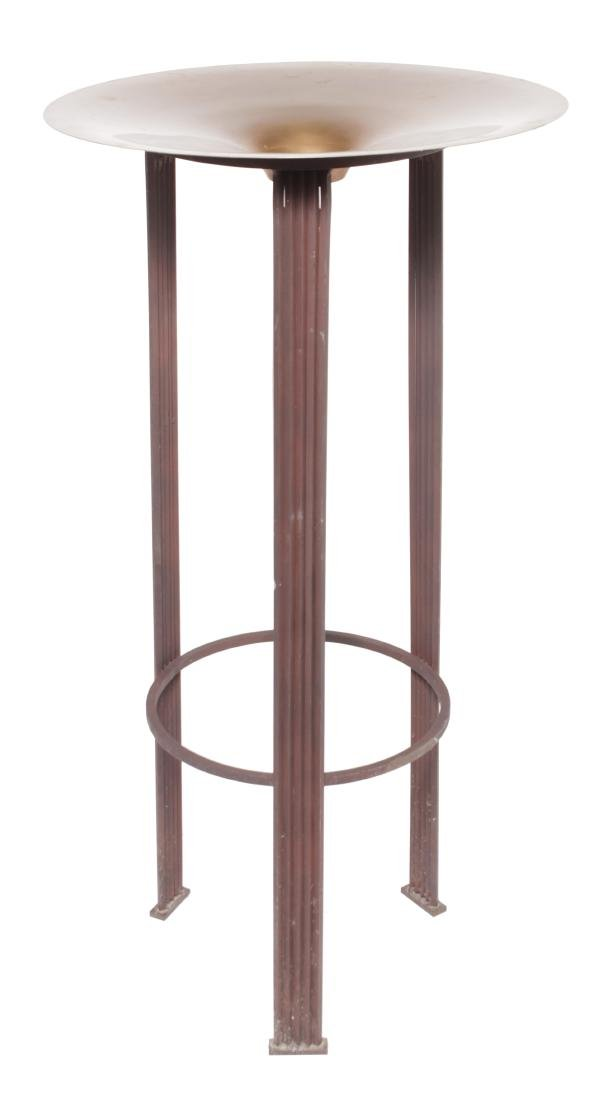 Contemporary Stand with Copper Insert