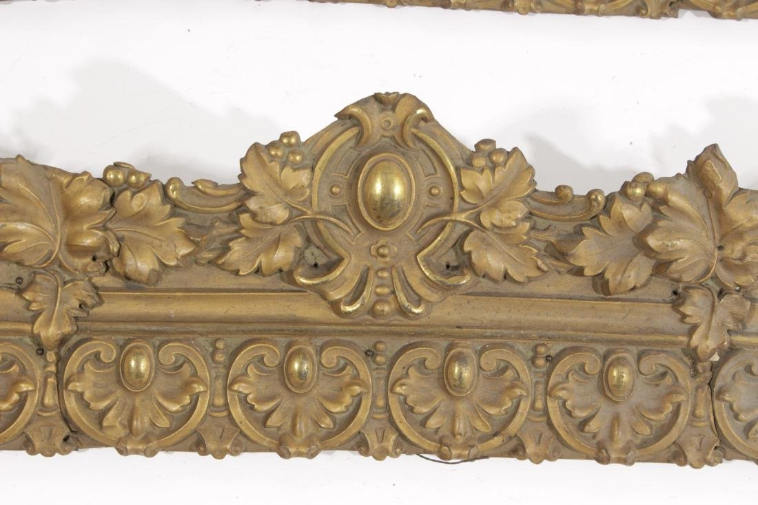 Embossed Gilt Metal Trim - 3