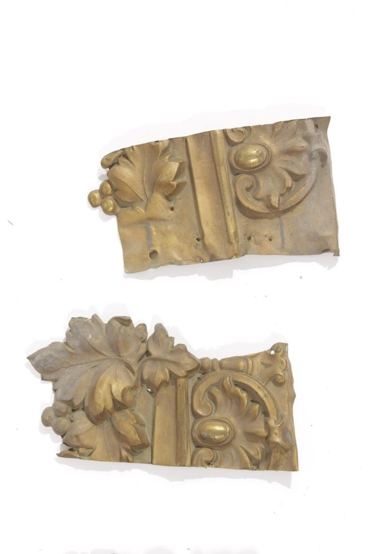 Embossed Gilt Metal Trim - 5