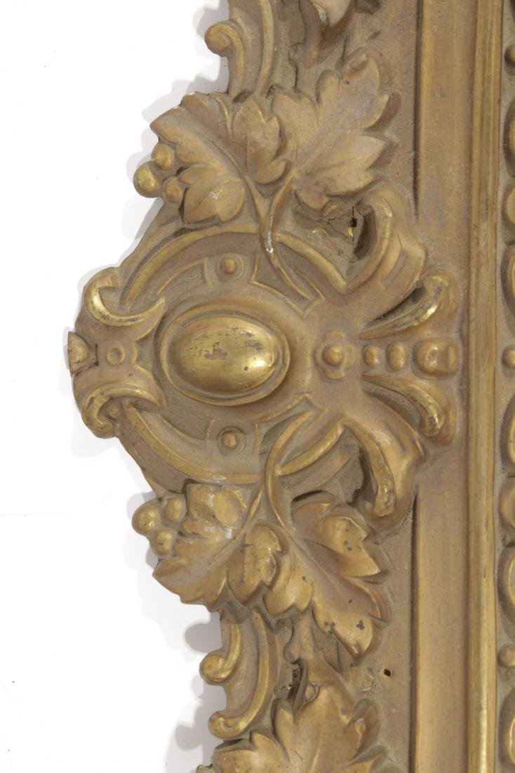 Embossed Gilt Metal Trim - 6