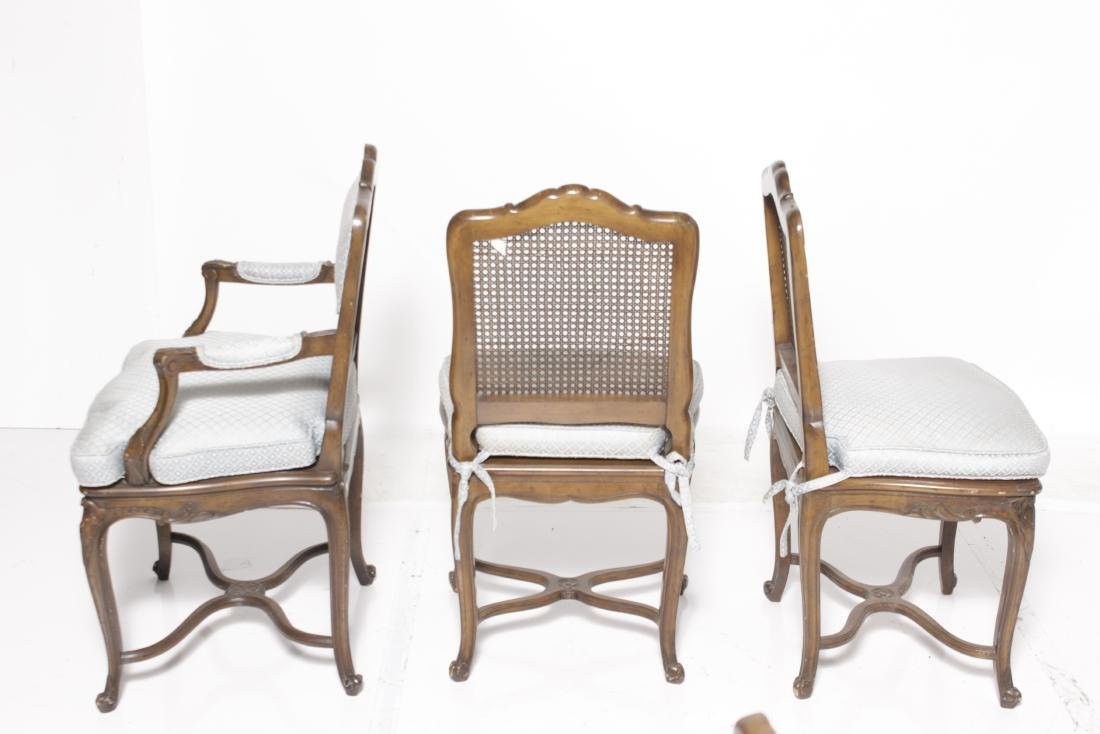 Set of Six Louis XV Style Dining Chairs - 6