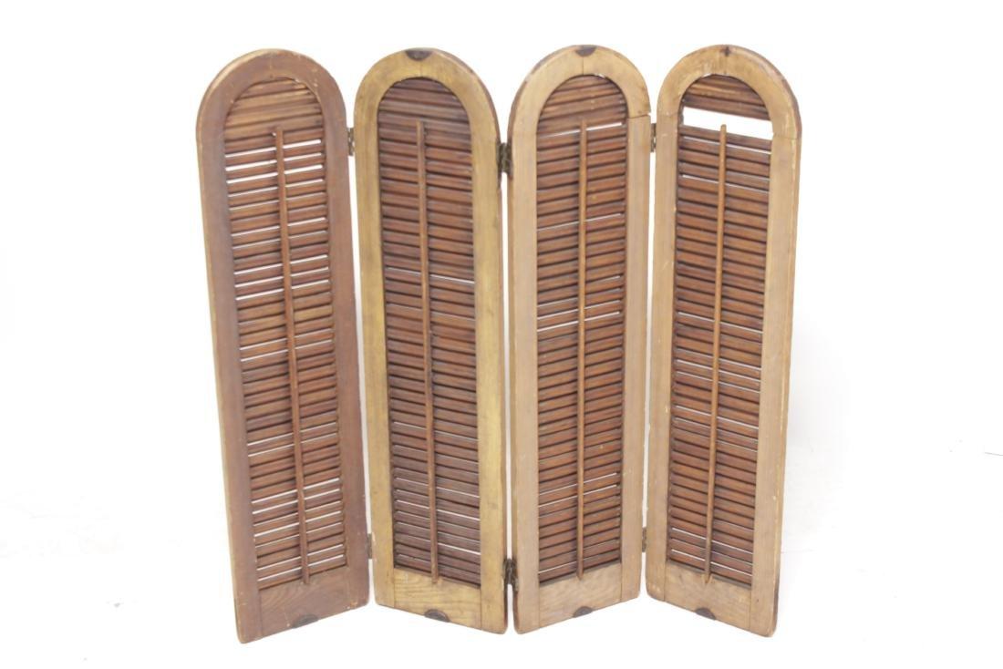 Four Pine Window Shutters