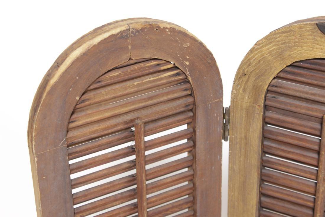 Four Pine Window Shutters - 2