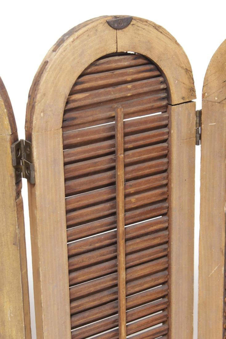 Four Pine Window Shutters - 3