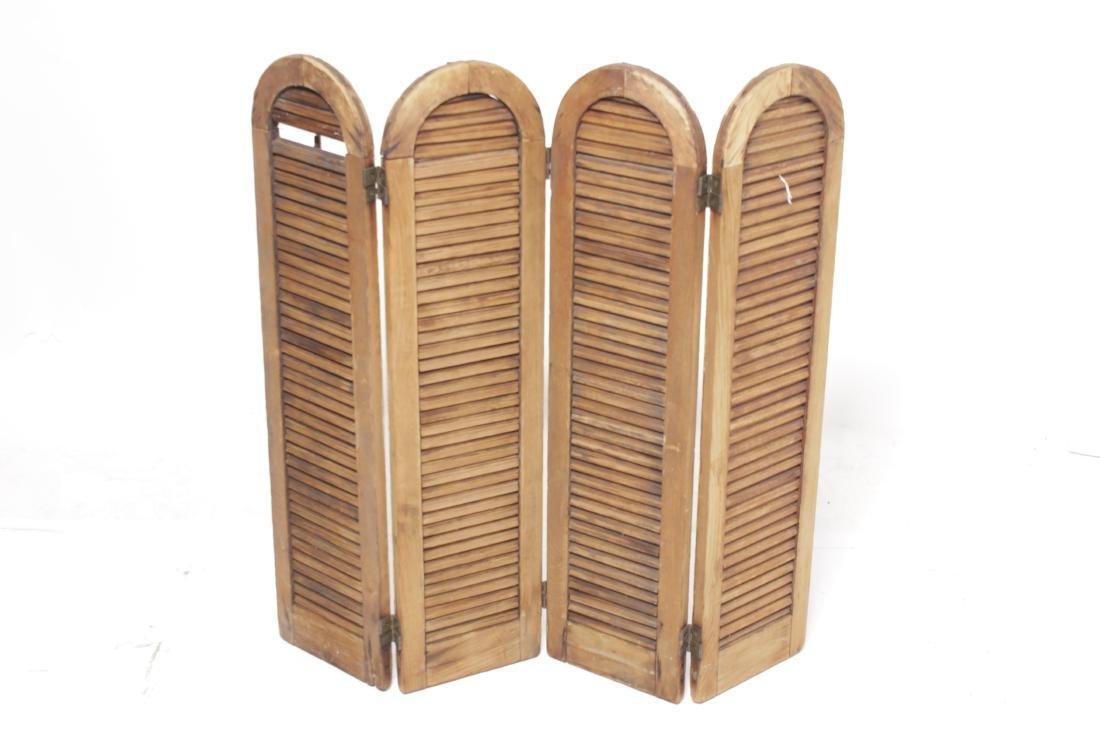 Four Pine Window Shutters - 6